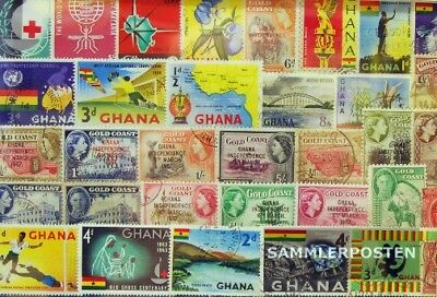 Ghana 50 different stamps