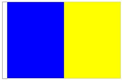 Ireland Roscommon County Gaelic Games Colours Flag for Boats 45cm x 30cm