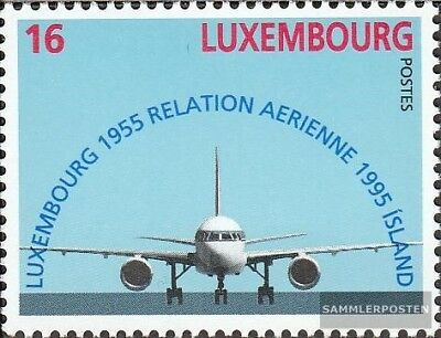 Luxembourg 1374 (complete issue) unmounted mint / never hinged 1995 40 years fli
