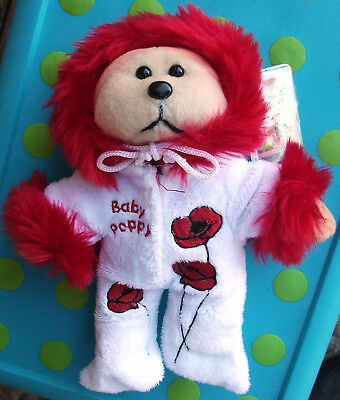 """BEANIE KIDS """"Baby Poppy"""" not for retail mint with tag """"Flower Babies""""!"""