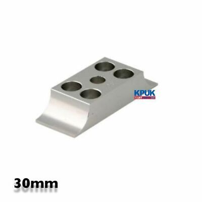Engine Mount Clamp 30mm Flush Fit Universal ALLOY SILVER New Kart Parts UK