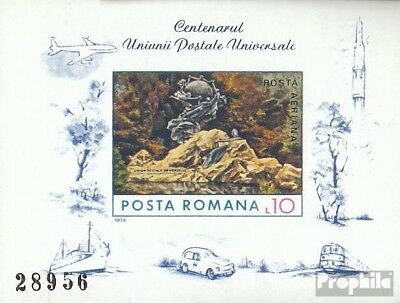 Romania block113 (complete issue) unmounted mint / never hinged 1974 UPU