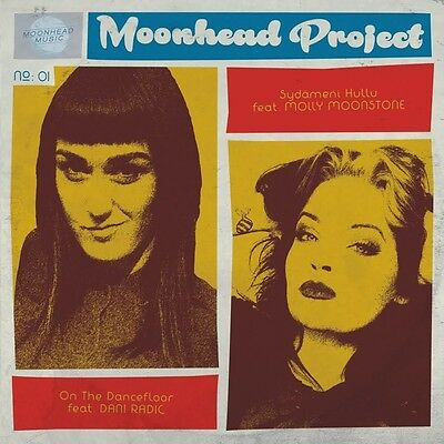 "MOONHEAD PROJECT * Vol. 1 7"" Yellow Vinyl *Valkyrians *Soul Radics *Slackers"