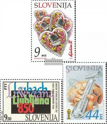 slovenia 75,79,87,88 (complete issue) unmounted mint / never hinged 1994 special