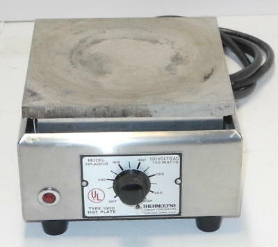 """Sybron Thermolyne HP-A1915B Hot Plate 6"""" x 6"""" Type 1900 - GOOD CONDITION!"""