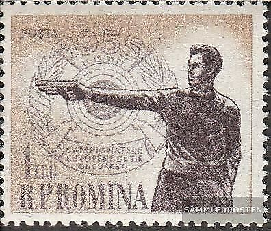 Romania 1535 (complete issue) unmounted mint / never hinged 1955 european champi