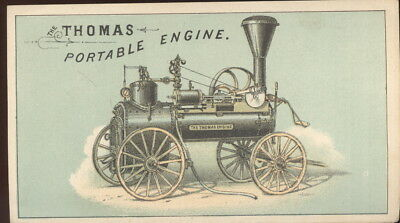 1880S Booklet Advertising Thomas & Sons Rakes & Portable Engines, Springfield Oh