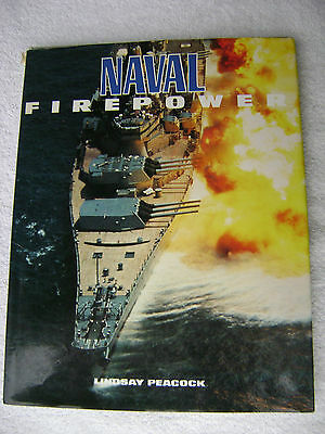 Naval Firepower Book Maritime Nautical Marine (#025)