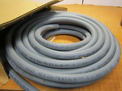 """EATON  H20108GY Easy Couple Air Water 1/2"""" Hose 300 psi GRAY 50 Ft 3/4"""" OD NEW"""