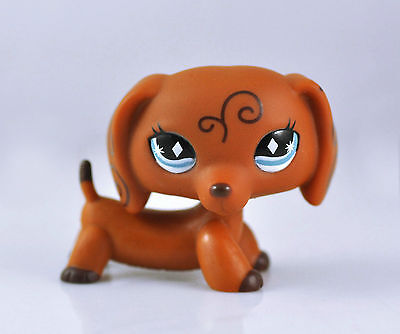 Pet Dachshund Dog Collection Child Girl Boy Figure Littlest Toy Loose LPS818