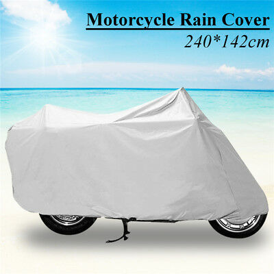 240*142cm Motorcycle Rain Dust Cover Electric Car Moped Bicycle Cover Waterproof