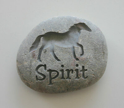 Horse Pet Memorial Custom Engraved Memorial Stone Pet Loss Personalized Pony