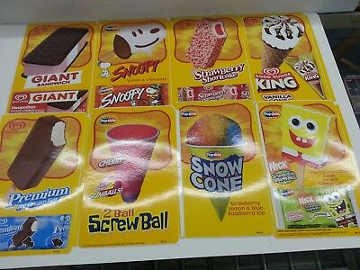 Lot of 130 Vintage Good Humor Ice Cream Stickers Decals (Lot A)