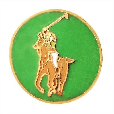 Polo Pony and Rider Pin Badge