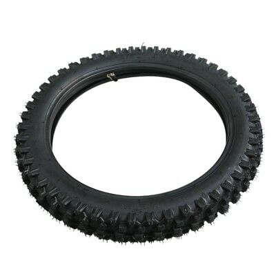 "Pit Pro Bike 60/100-14 Inch Tire 2.75-14"" Knobby Front Tyre &Rubber  Inner Tube"