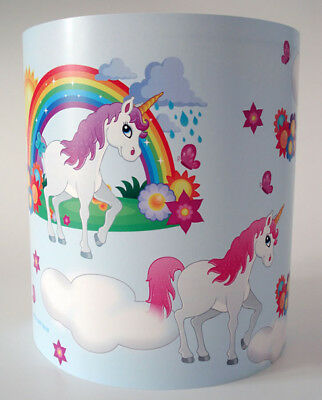 Magical Unicorns and Rainbows Light Shade