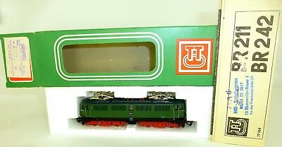 242 018-2 E-LOCOMOTIVE M 1 Light TT 1:120 Original Box Manual BTTB 2321 Mint Å