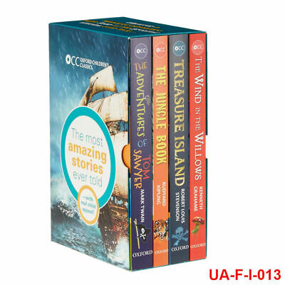 Oxford Children's Classics World of Wonder 4 Books Collection Box Pack Set NEW