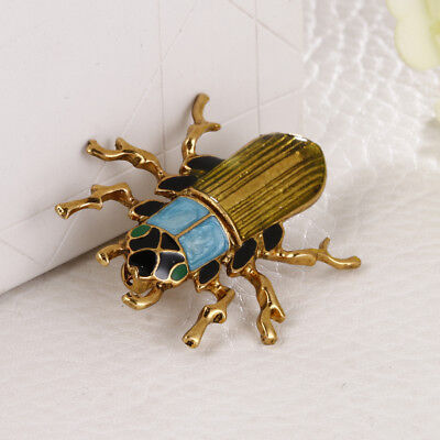 Euro-American Style Insect Brooch Pin for Men/Women 3.9 x 3.6 cm