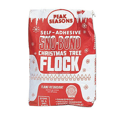 V11101 Sno-Bond Christmas Tree Snow Flock, 25 lb bag