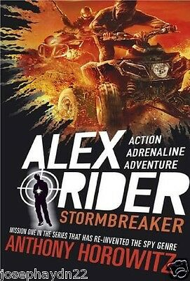 NEW  (1) STORMBREAKER  - ALEX RIDER book  Anthony Horowitz NEW COVER