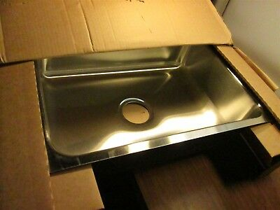 "JUST MANUFACTURING US-1824-A Undermount Sink 18 Gauge 24"" x 18"" x 7-1/2"" NEW"