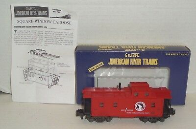 American Flyer Great Northern 99' Nasg Cbs Illuminated Caboose 6-48214