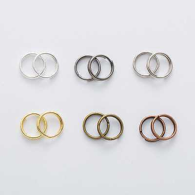 6 Colors Open Jump Rings Double Loops Connectors Findings Jewelry Making 4-12mm