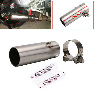 Motorcycle Exhaust Mid Link Pipe Connector Slip On For Yamaha R6 YZF-R6 2006-16