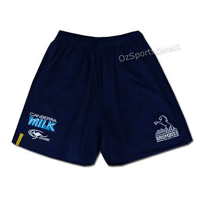 Brumbies 2016 Onfield Player Shorts  Sizes 2XL - 3XL  **SALE PRICE**