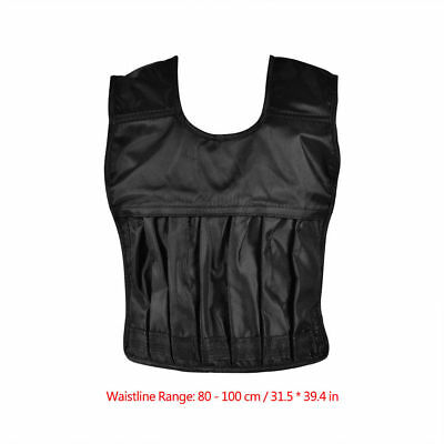 Adults Adjustable Loading Weighted Vest Waistcoat for Workout  Exercise Fitness