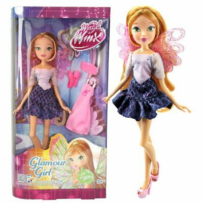 Flora | Glamour Girl Puppe | Winx Club | World of Winx | Mit Mode-Accessoires