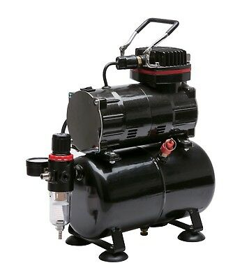 Royal Max Tc-80T Single Piston On-Demand Airbrush Compressor With 3 Litre Tank