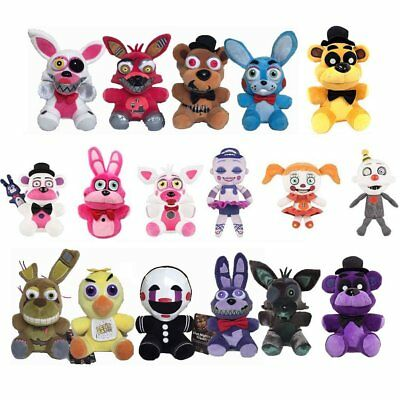 """Hot NEW Five Nights at Freddy's FNAF Horror Game Plush Dolls Kids Plushie Toy 7"""""""
