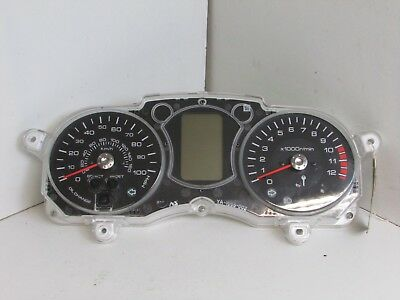 Yamaha YP125 YP 125 XMAX 10MY 2010 Clocks Speedo Instrument 1328 km     J05