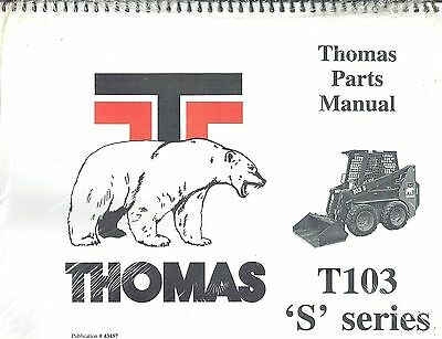 thomas t135 s skid steer loader repair service manual new 44290 rh picclick com Thomas Skid Steer 135 Thomas 173 Skid Steer