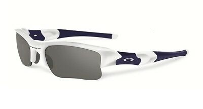 Oakley Flak Jacket XLJ Sunglasses Polished White Black Iridium 03-943