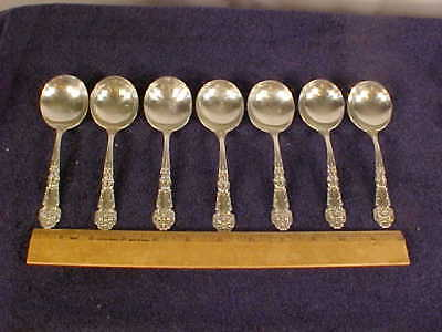 Sterling Silver Reed & Barton, Round Bowl Soup Spoon, French Renaissance [1941]