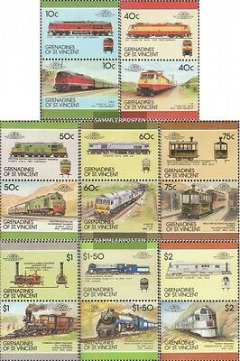 St. Vincent-grenadines 543-558 Couples mint never hinged mnh 1987 LocoThematics