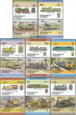 St. Vincent-grenadines 458-473 Couples mint never hinged mnh 1986 LocoThematics