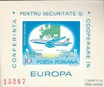 Romania Block144 (complete issue) unmounted mint / never hinged 1977 CSCE