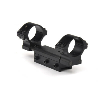 30mm One Piece Flat Top Rifle Scope Adapter 20mm Flexible Mount Dual Rings