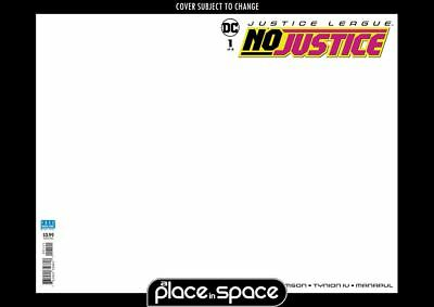 Justice League: No Justice #1B - Blank Variant  (Wk19)