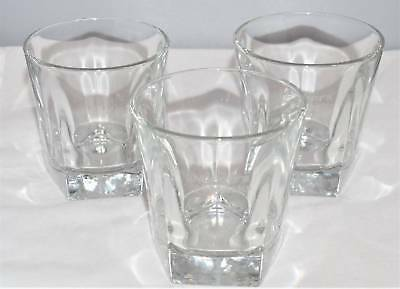 Makers Mark Whiskey Rocks Clear Etched Glass Libby Duratuff 5 Side Bottom