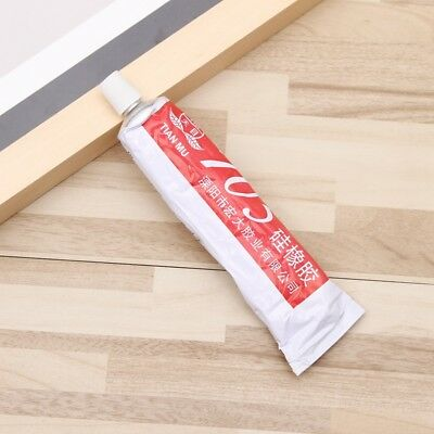 Clear Silicone Rubber 705 High Temperature Sealant Adhesive Glue Glass Metal New