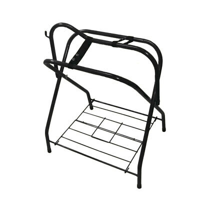 Foldable Saddle Rack Horse Bridle Stand