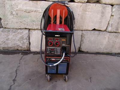 Lincoln Power Mig 350 Mp Wire Feed Welder Single Phase  Works Great  #3