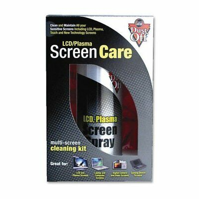 Dust Off DPTCL-2 LCD/Plasma Screen Cleaning/Maintaining Spray Pack of 2