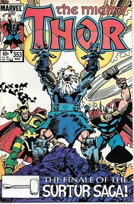 The Mighty Thor Comic Book #353 Marvel Comics 1985 NEAR MINT NEW UNREAD