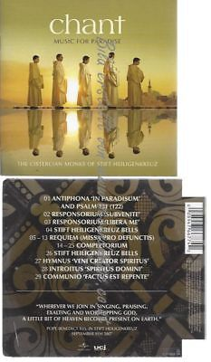 Cd-- --    Chant - Music For Paradise